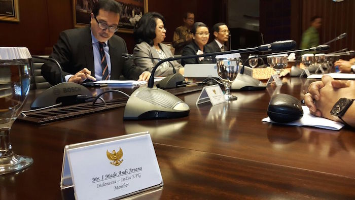 Meeting Minister Retno LP Marsudi