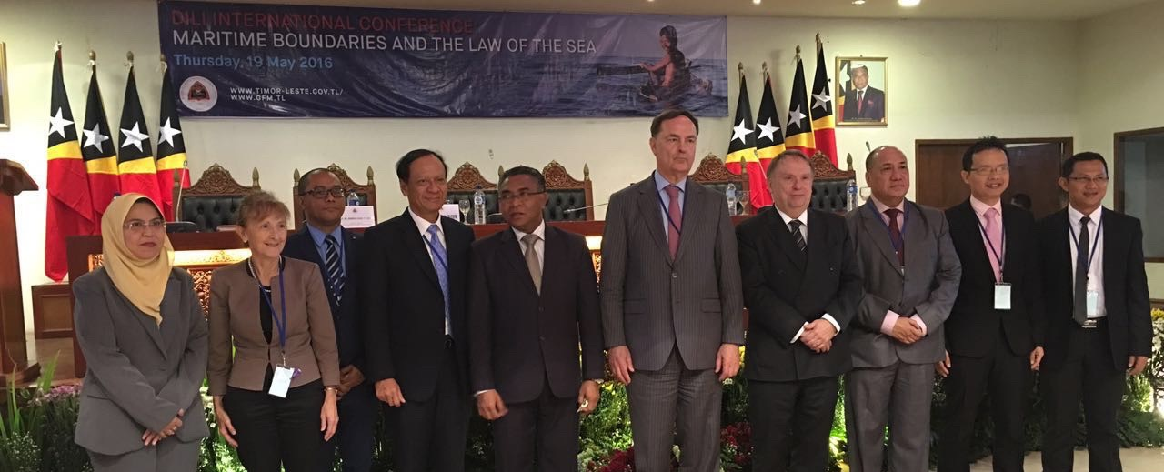 Meeting the Leaders of Timor Leste